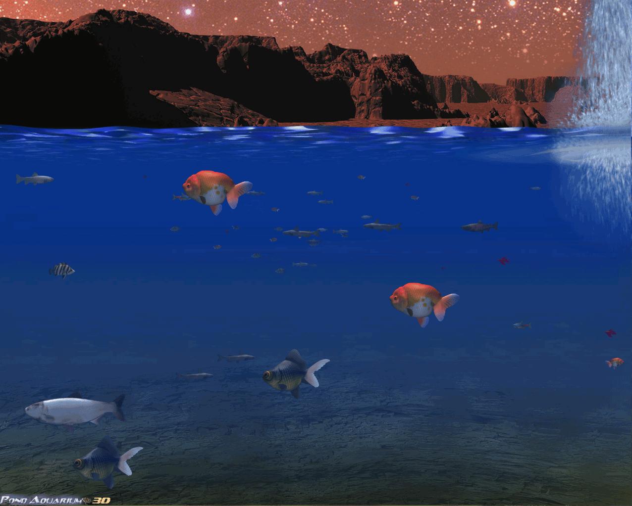 Pond aquarium 3d deluxe edition selectsoft for Pond aquarium