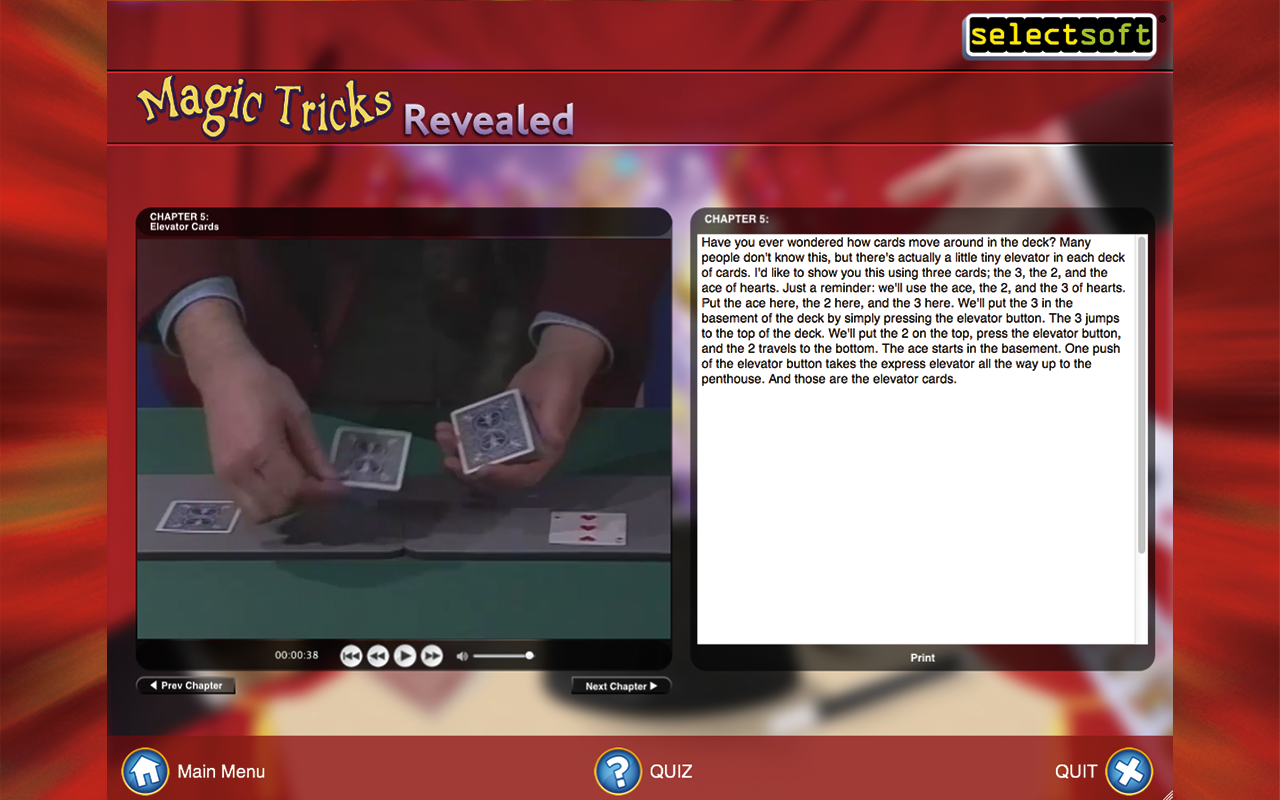 Magic Tricks Revealed | Selectsoft
