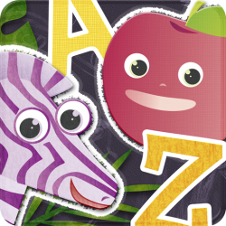 ABC Animal vs. Veggie Flash Cards