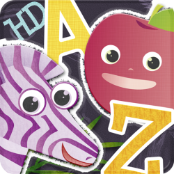 ABC Animal vs. Veggie Flash Cards HD