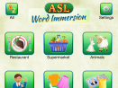 ASL Word Immersion