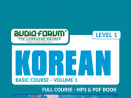 Korean Basic Course Vol. 1